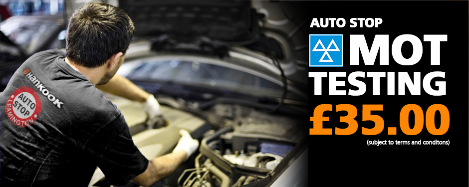 Auto Stop MOT Testing £35.00 (subject to terms and conditions)